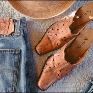 Free People Leather Heels